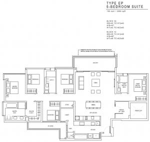 JadeScape Floor Plan 5 Bedroom EP